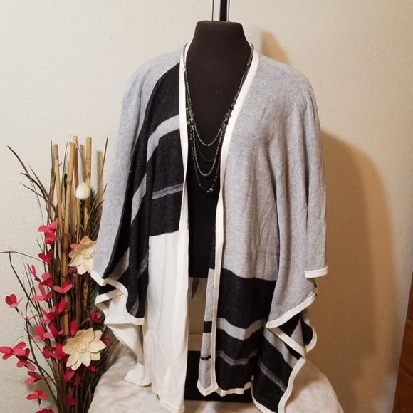NYDJ Sweaters - NYDJ Plus Size Cashmere Cardigan Shawl-NWT